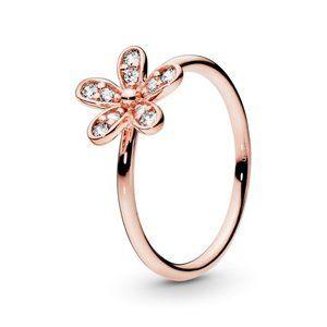 Pandora Sparkling Daisy Flower Ring